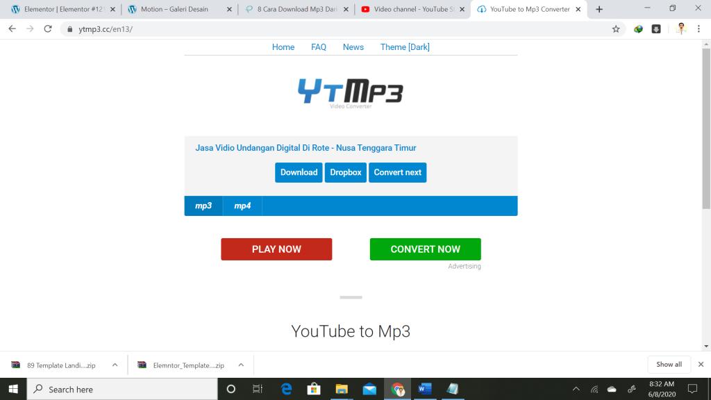 Cara Download Mp3 Dari Youtube Di Pc Ataupun Di Hp Dengan Cepat Dan Mudah Praditya Ewangga